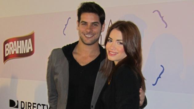 DEBUT. El popular 'Nicolás' debuta en el cine con la actriz argentina. (USI)
