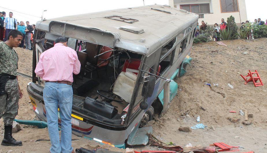 Accidente de tránsito, Ventanilla, Escolares heridos