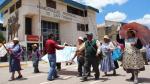 Región paralizada por tres protestas - Noticias de david mamani