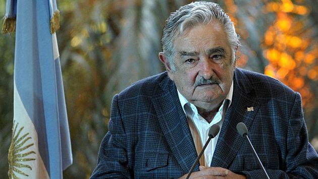 José Mujica a favor de legalización de la marihuana. (AFP)
