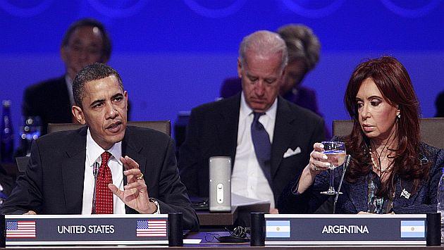 Cristina Fernández es una de las mandatarias más ricas del mundo y su fortuna supera a la de Obama. (Reuters)