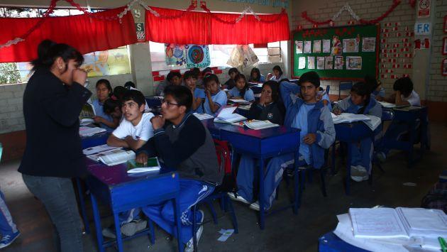 Estudiantes peruanos se encuentran en últimos lugares. (Perú21)