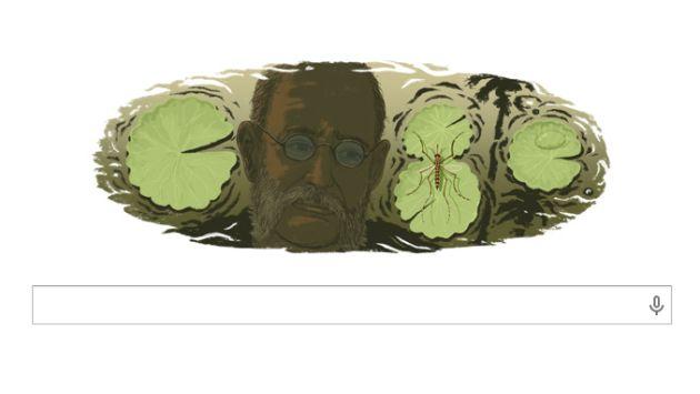 Doodle rinde homenaje a Carlos Juan Finlay. (Google)