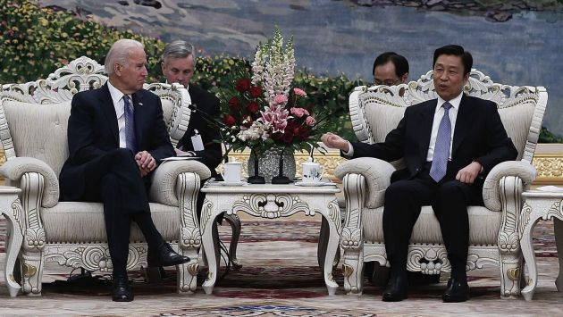 Joe Biden dijo en Japón que la medida de Pekín era una provocación. (EFE)