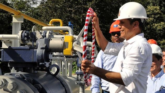 Ollanta Humala destacó beneficios de la extracción petrolera. (Difusión)