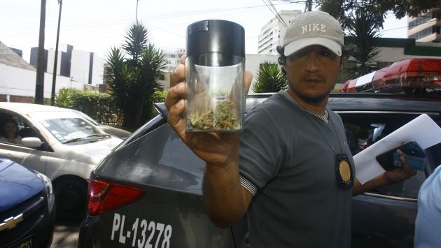 'Bomba' es nueva droga con aceite de marihuana. (Allen Quintana/USI)