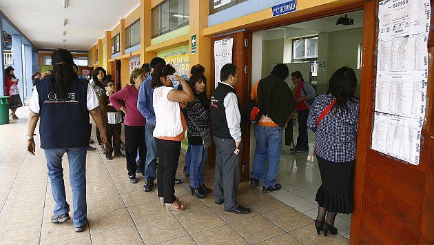 Voto voluntario: Presentan proyecto de ley para implementarlo en Perú. (Difusión)
