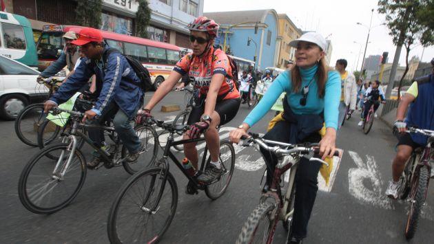 Se pondrá el servicio de alquiler de bicicletas en el Centro de Lima. (USI/Referencial)