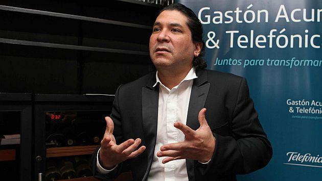 Gastón Acurio rechaza que vaya a postular en el 2016. (EFE)
