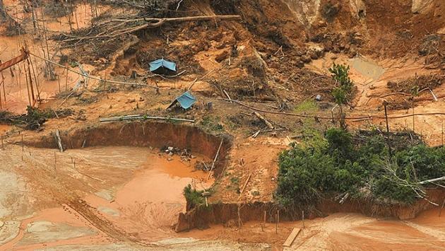 Minería ilegal se expande. (EFE)