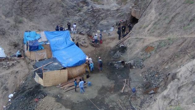 Tres mineros fallecieron en explosión. (USI/Referencial)