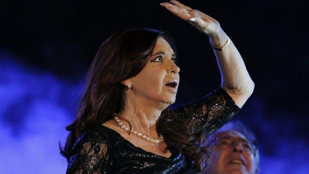 Cristina Fernández: Crece desaprobación a su gestión en diciembre. (AFP)