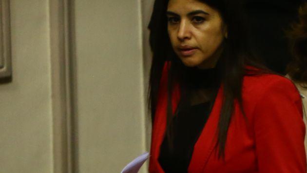 ¿Dónde radica su poder? Ni siquiera la vicepresidenta Marisol Espinoza sabe cómo Malka Maya llegó a tener influencia en Palacio. (Rafael Cornejo)