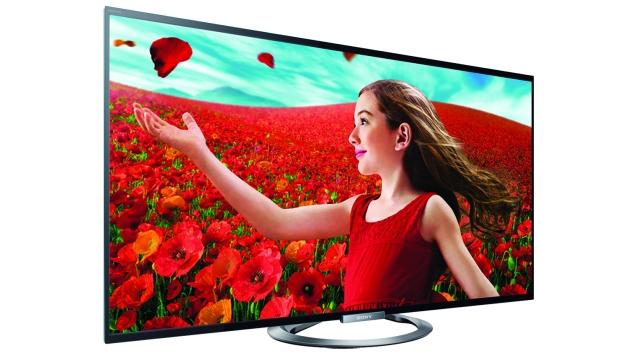 Sony y su televisor LED W955A. (Difusión)