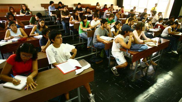 "Ollanta Humala recomendó a los jóvenes a no ir a las ""universidades de medio pelo"". (USI)"