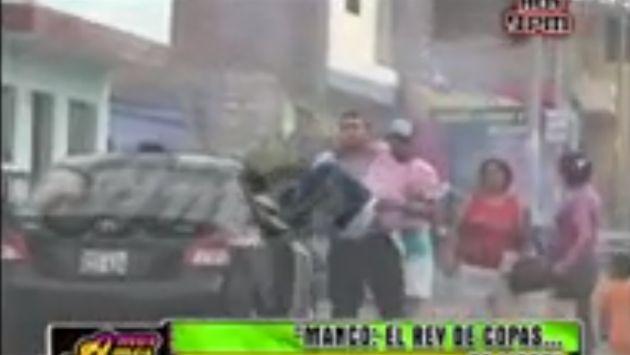 Reimond Manco es cargado por taxista hasta su casa. (Amor, Amor, Amor/Frecuencia Latina)