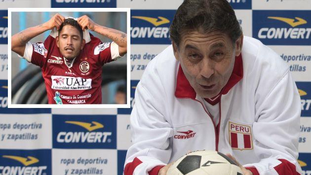 Roberto Challe pide apoyo para Reimond Manco. (USI)