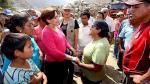 Villarán visitó la zona - Noticias de huarochirí
