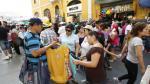 Ambulantes invaden el Centro por falta de serenos y policías - Noticias de jiron andahuaylas