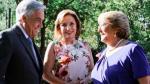 Michelle Bachelet recibe a Sebastían Piñera con fallo de La Haya en la mira - Noticias de evelyn matthei
