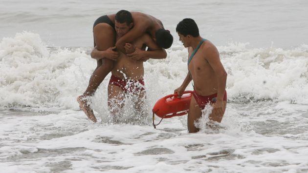 Rescatitas brindarán atención a los bañistas en peligro. (Perú21)