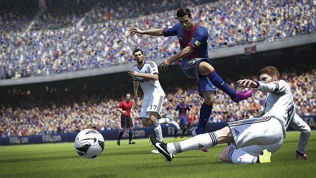 Llega FIFA 2014 para los amantes del fútbol. (Internet)