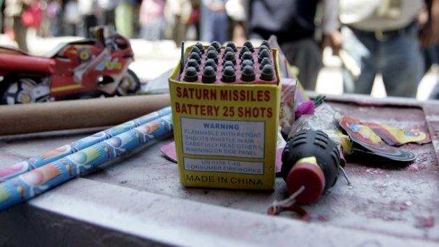 Menor muere por explosión de pirotécnicos que llevaba en su mochila. (USI/Referencial)