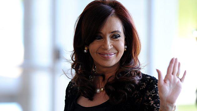 Christina Fernández asegura que no buscará reelección. (AFP)