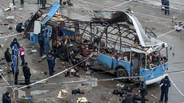 Rusia: 32 muertos por nuevo atentado en Volgogrado. (Reuters)