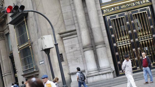 Bolsa de Valores de Lima mostró tendencia positiva en diciembre. (David Vexelman)