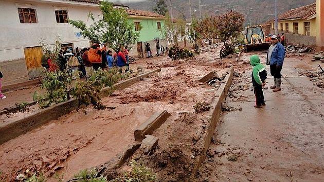 Río Quillabamba afectó a los pobladores. (Referencial/Internet)