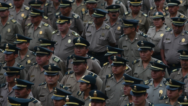 terminó con la carrera de centenas de policías. (Rafael Cornejo
