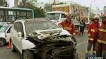 Tres accidentes de tránsito se registraron en las primeras horas de 2014 - Noticias de paola davila