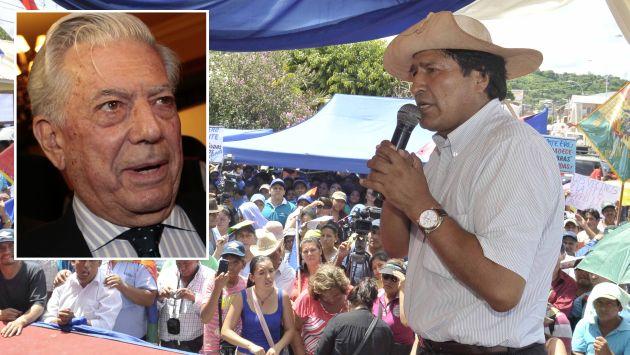 Evo Morales critica visita a Bolivia de Mario Vargas Llosa. (ABI/USI)
