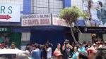 Gamarra: Hombre muere aplastado por ascensor en galería - Noticias de hipolito gutierrez nino