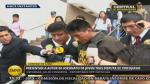Fanático de videojuego que asesinó a joven fue trasladado a la Fiscalía - Noticias de ronny sierra condori