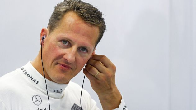 Michael Schumacher sigue en estado crítico en hospital de Grenoble. (EFE)