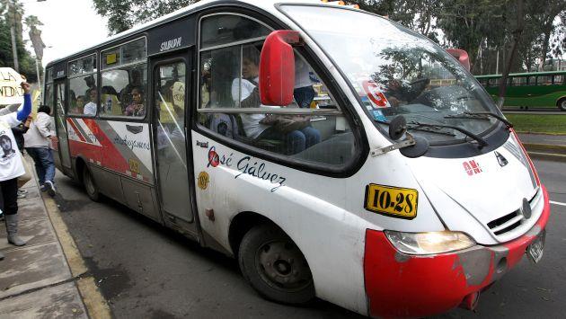 Unidades de Orión dejarán de circular por avenidas Javier Prado y Arequipa. (USI)