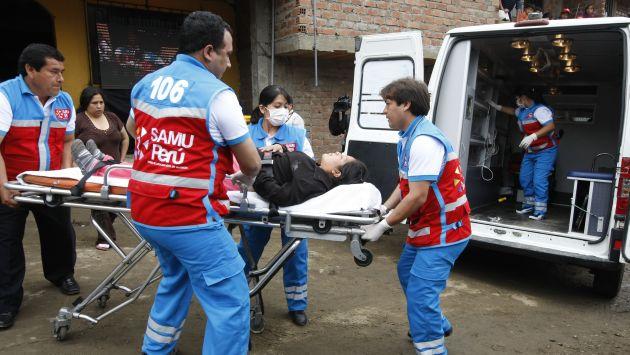 El SAMU atiende las 24 horas del día. (Perú21)