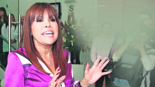 Magaly Medina defiende a Rodrigo González. (USI)