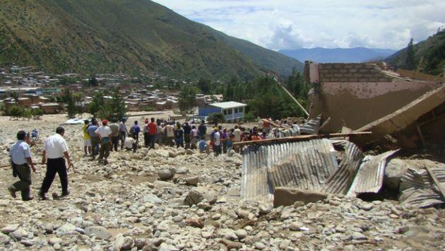 Cusco sufre por estos días fuertes lluvias. (Perú21)