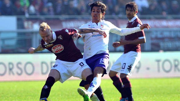 Fiorentina empató 0-0 con el Torino. (AP)
