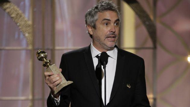 Alfonso Cuarón ganó el Globo de Oro a mejor director por 'Gravedad'. (Reuters)