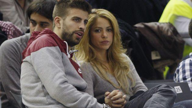 Shakira halagó el cuerpo de su pareja. (EFE)