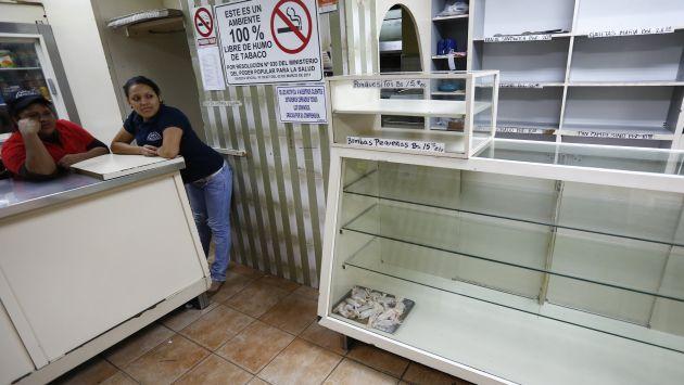 Así lucen muchas panaderías en Venezuela. (Reuters/Canal N)