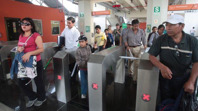 Nuevo sistema de cobro en el Metro de Lima causa malestar entre los usuarios. (USI)