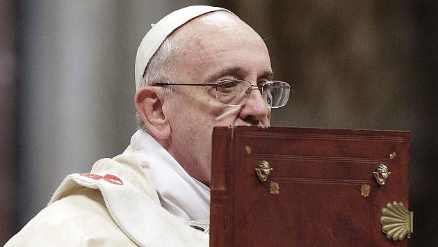 El Papa Francisco hace un fuerte mea culpa por abusos sexuales de religiones. (EFE)