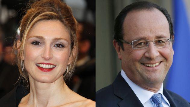Gayet exige 50,000 euros a revista que la vinculó con Hollande. (AFP)