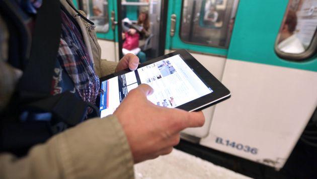 Ahora podrá conectarse a Internet desde lugares públicos en Lima. (AFP)