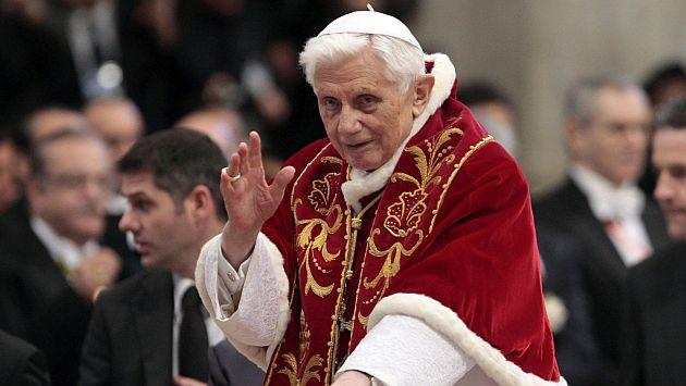 Papa Benedicto XVI destituyó a 400 curas pedófilos en dos años. (EFE)